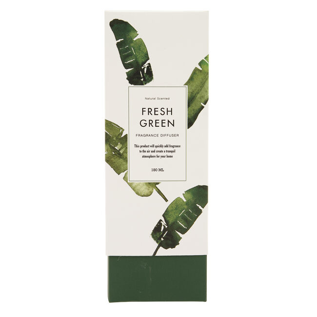 Fresh Green Reed Diffuser