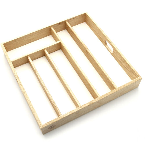 Cutlery Drawer Tray - Beech