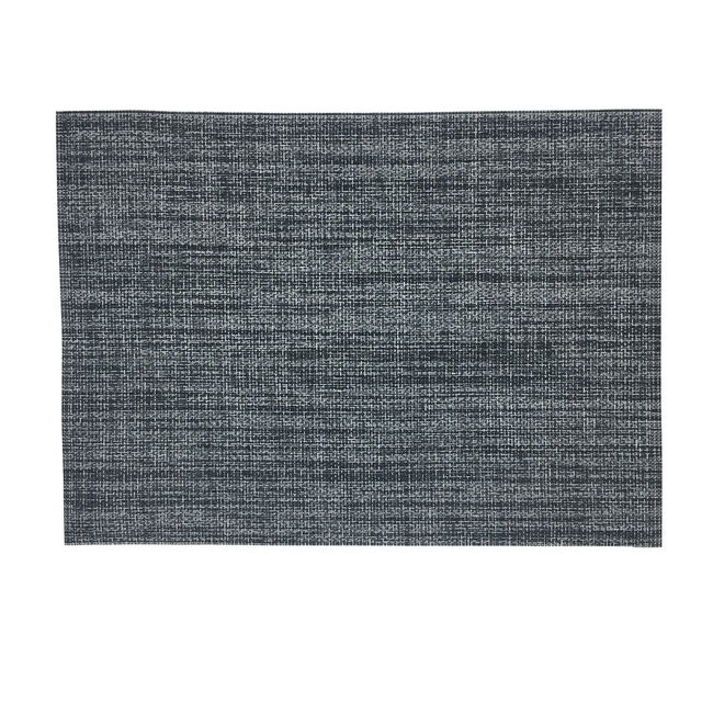 Rustic Woven Charcoal Placemat