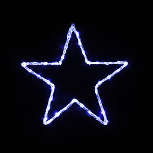 Acrylic Christmas Star Silhouette Light