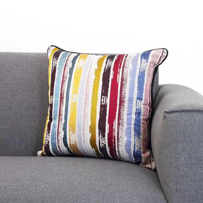Atlantis Stripe Cushion 45x45cm - Multi