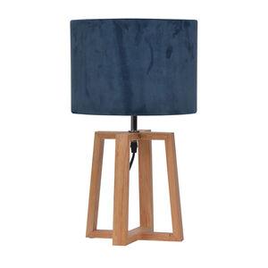 Wooden Cross Table Lamp
