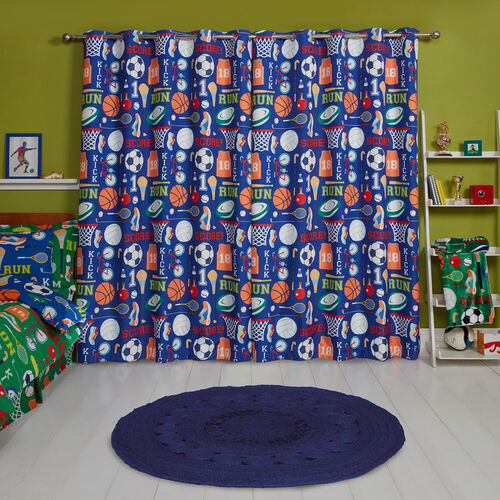 SPORTS DAY BLACKOUT 66x54 Curtain