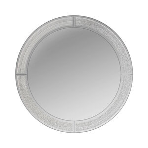 Ascot Glitter Round Mirror 50cm