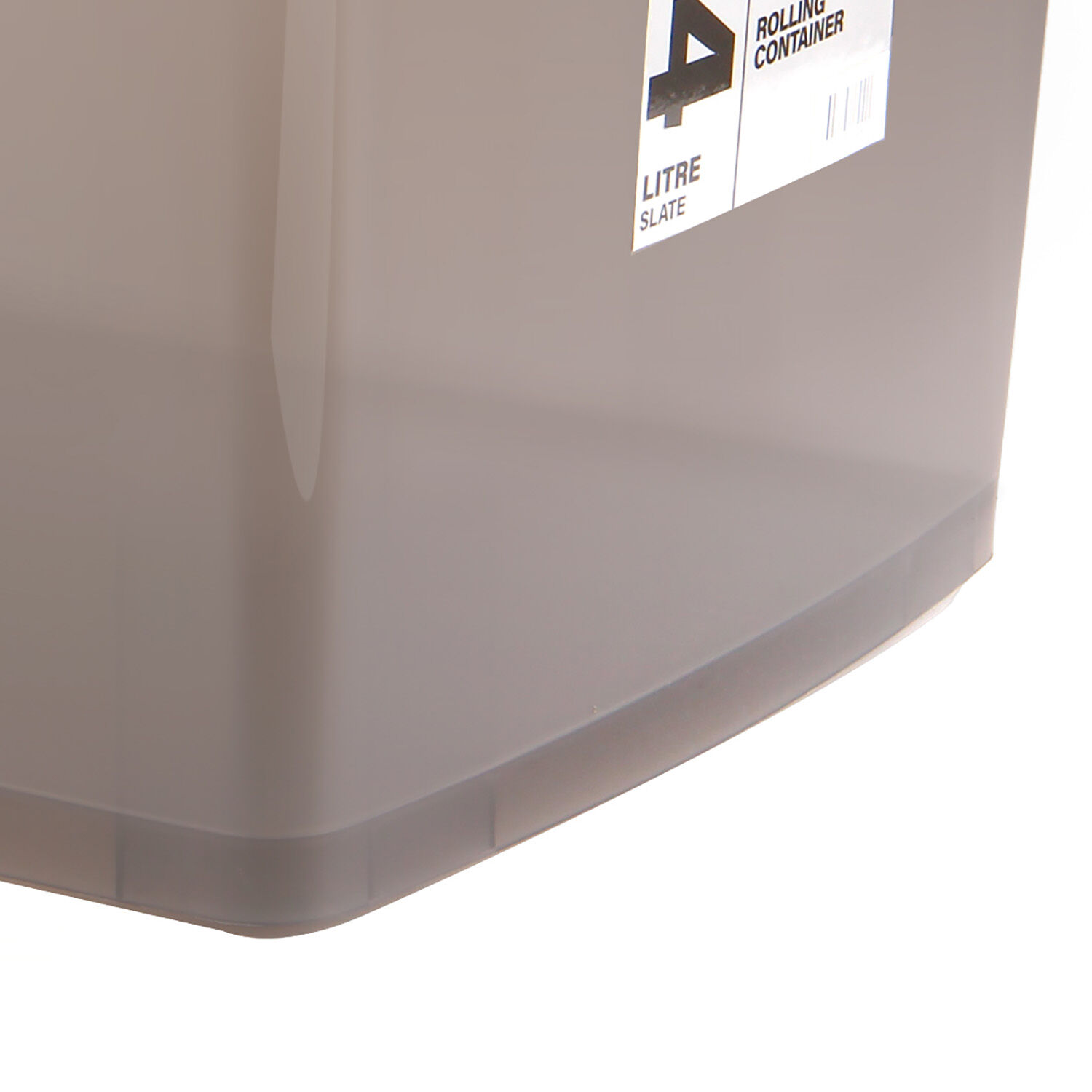 Rolling Storage Box 94l Slate Home Store More
