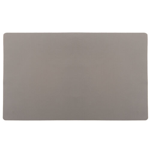 Leather Placemat - Grey