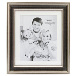 Med Antique Bronze Photo Frame 10x12""