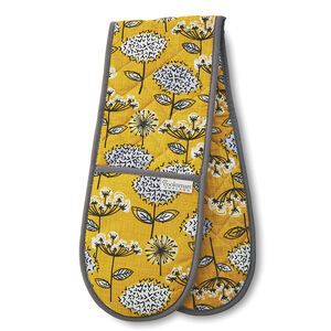 Retro Meadow Double Oven Glove