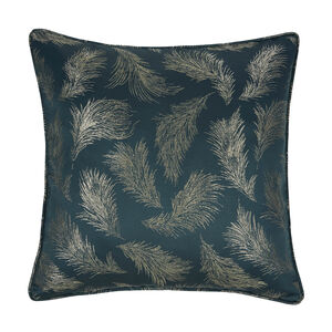Forest Leaf Cushion 58 x 58cm - Green