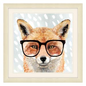 Doureyed Forester Framed 37 x 37cm - Fox