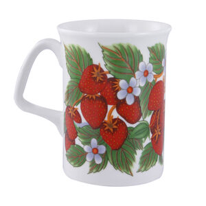 Fruits Bone China Mug