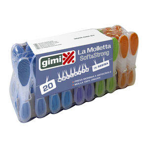 Gimi Soft and Strong Clothes Pegs 20 Pack