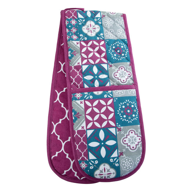 Mosaic Double Oven Glove
