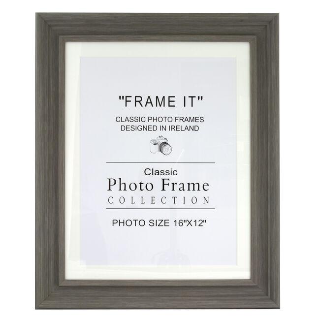 5x7 SLATE GREY Photo Frame JK84902