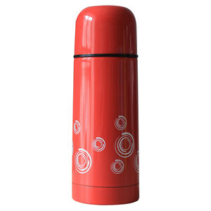 Swirls Childrens Vacuum Flask Red 0.35L