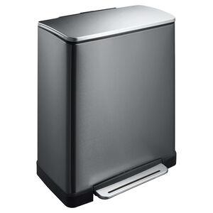 E-Cube 2 Compartment Recycling Bin
