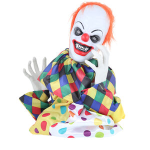 Moving Creepy Clown Groundbreaker with Sound