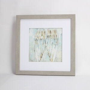 Resting Angel Framed Print 55x55cm