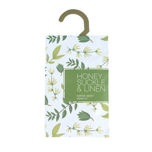 Honeysuckle & Linen Fragrance Sachet