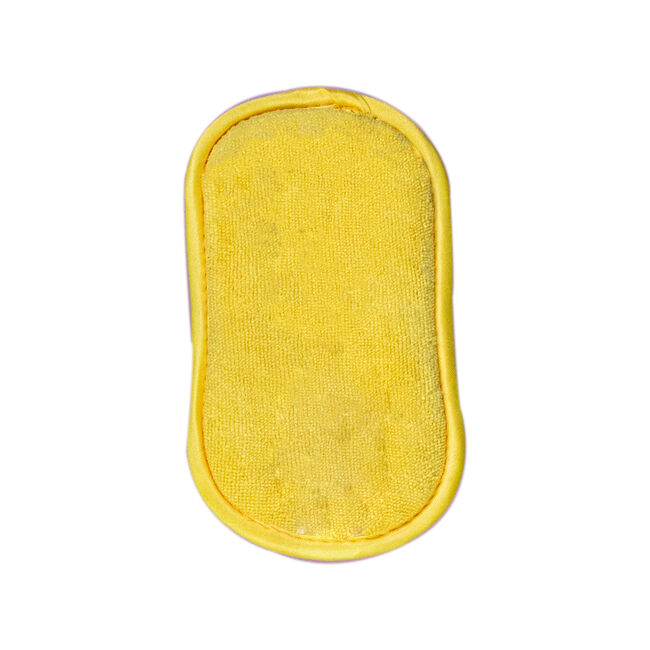 Gleam Clean Microfibre Cleaning Pad - Yellow