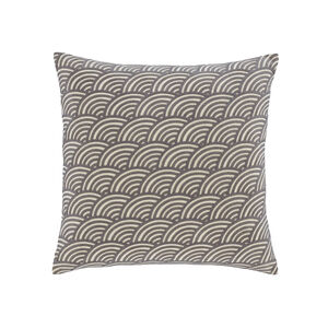Rainbow Chenille Grey Cushion
