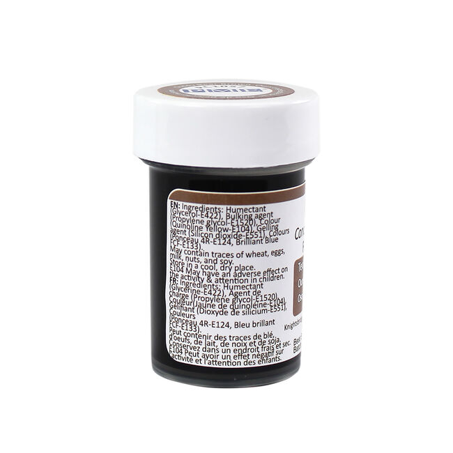 PME Colour Food Paste 25g - Teddy Bear Brown