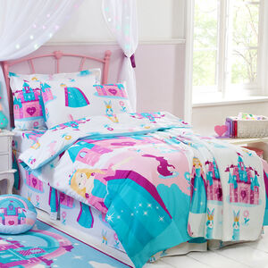 JUNIOR BED DUVET COVER Princess Wonderland