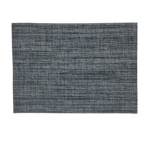 Rustic Woven Placemat - Charcoal