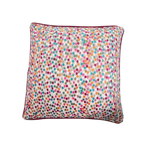 Sophie Spot Cushion 45 x 45cm - Green