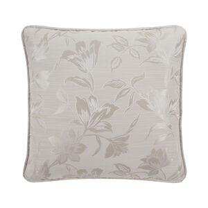 Floral Jacquard Sand Cushion 45x45cm