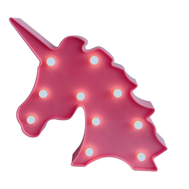 Light Up Unicorn Silhouette