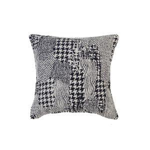 Alexa Patchwork Cushion Cover 45x45cm - Navy