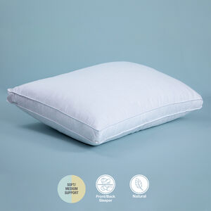 Cotton Kiss Duck Down Pillow