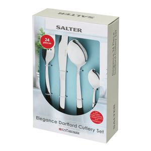Salter Dartford Cutlery Set 24 Piece