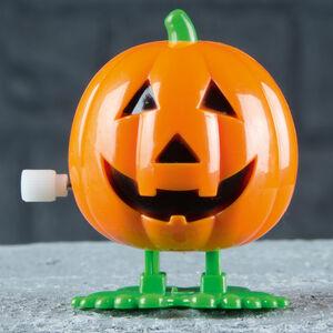Halloween Wind Up Pumpkin