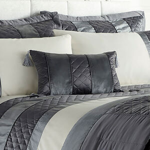 Classic Velvet Charcoal Cushion 30x50cm