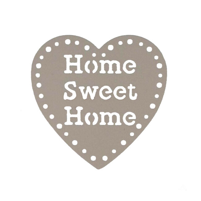 Home Sweet Home Taupe Curtain Clips 2