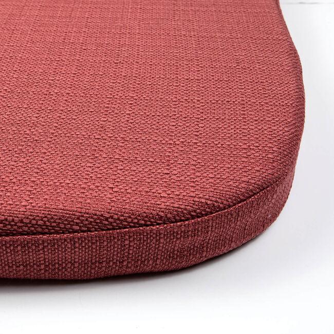Woven Kitchen Seat Pad - Dusty Rose