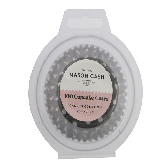Mason Cash 100 Monochrome Cupcake Cases