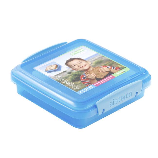 Klip It Airtight Square Sandwich Box