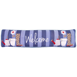 Garden Welcome Draught Excluder 22cm x 90cm