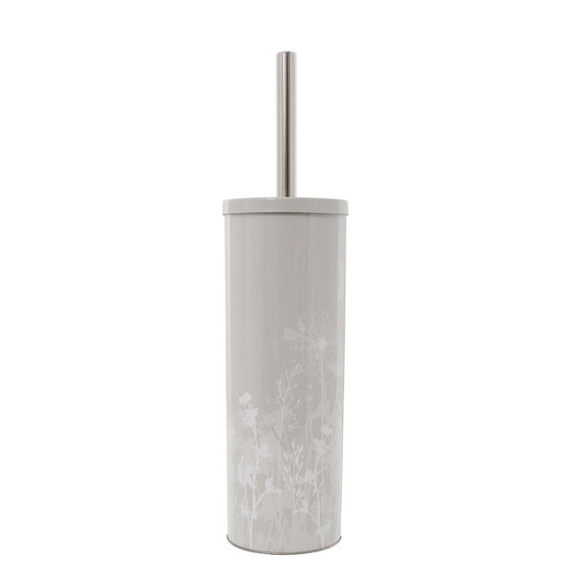 Meadow Grey Toilet Brush and Holder