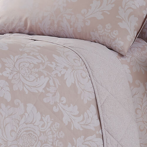 Elvira Bedspread 200x220cm - Mauve