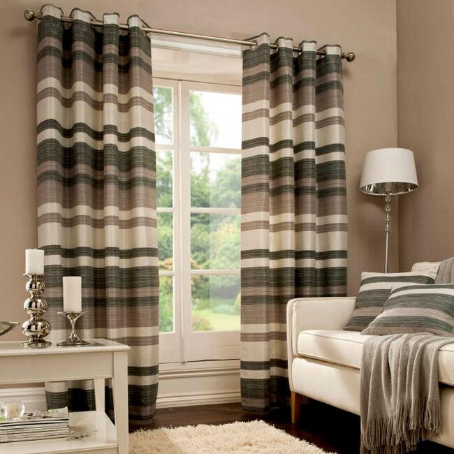 SOHO STRIPE MULTI 66x54 Curtain