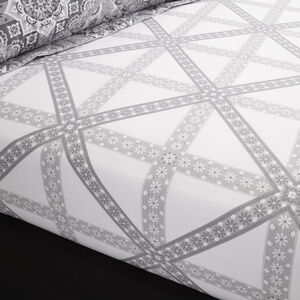 Ice Crystal Fitted Sheet