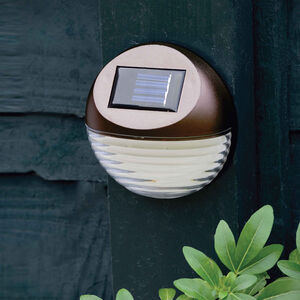 Bronze Fence Solar Light