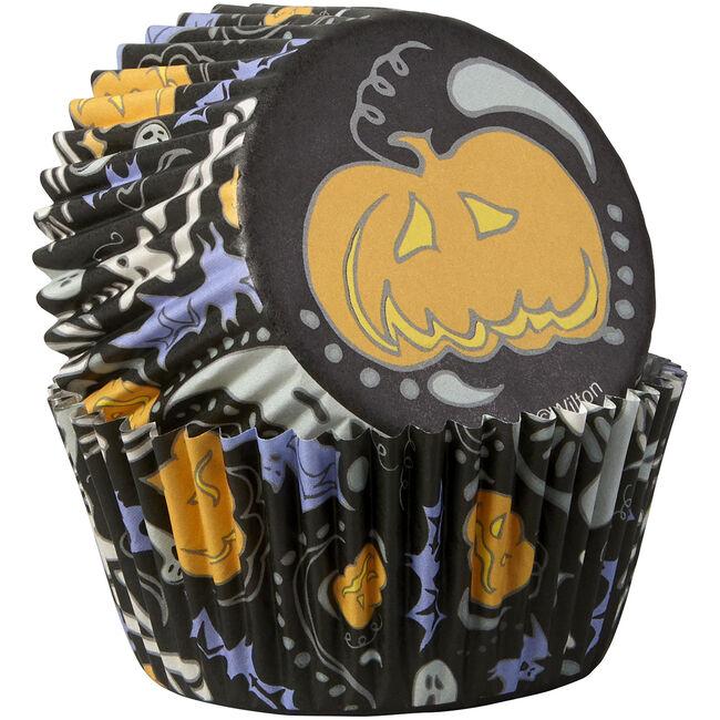 Wilton Halloween Trick or Treat 75 Cupcake Cases
