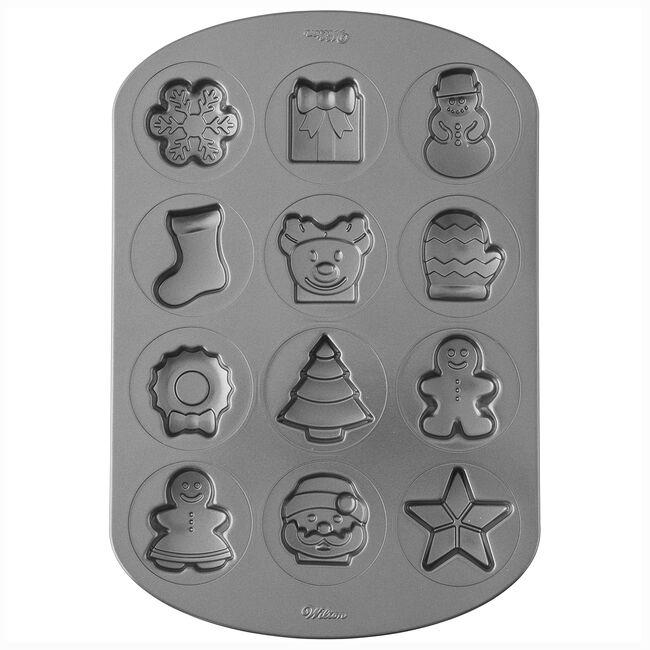 Wilton Christmas Shape Cookie Pan