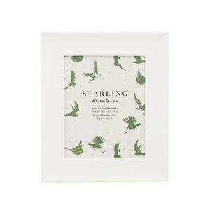 8x10 Starling White Frame