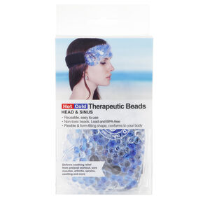 Gel Bead Hot/Cold Forehead Pack